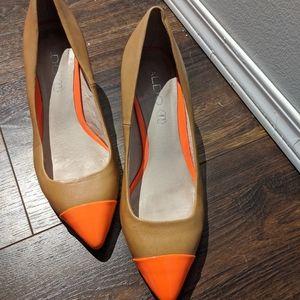 Aldo Neon Coral Heels - Retro!